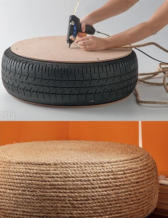 8 id es pour donner une seconde vie vos vieux objets astuces de filles. Black Bedroom Furniture Sets. Home Design Ideas