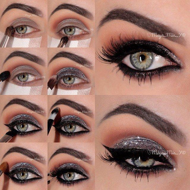 6 Tutos Maquillages De Soir 233 E Glamours Astuces De Filles