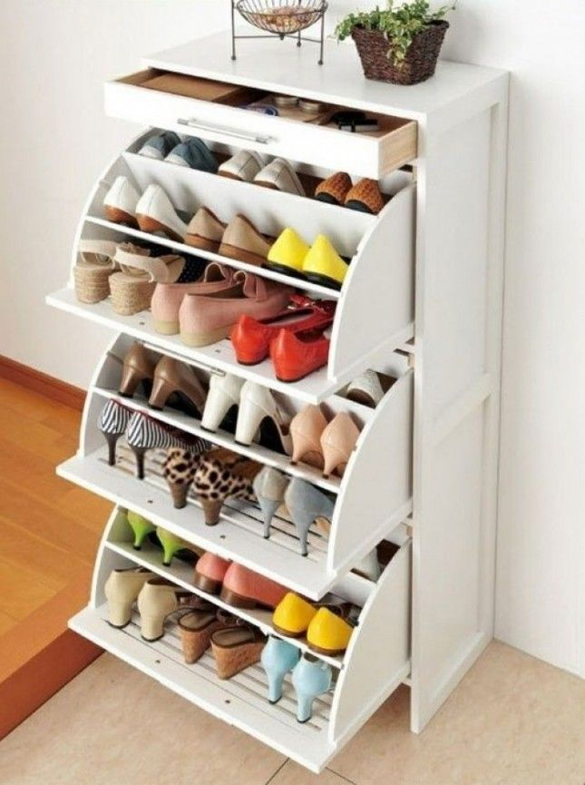 9 id es canons pour ranger vos pr cieuses chaussures - Astuce pour ranger chaussures ...