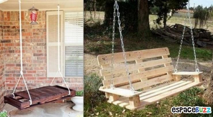 9 id es pour recycler de vieilles palettes astuces de filles for Que faire avec une palette en bois