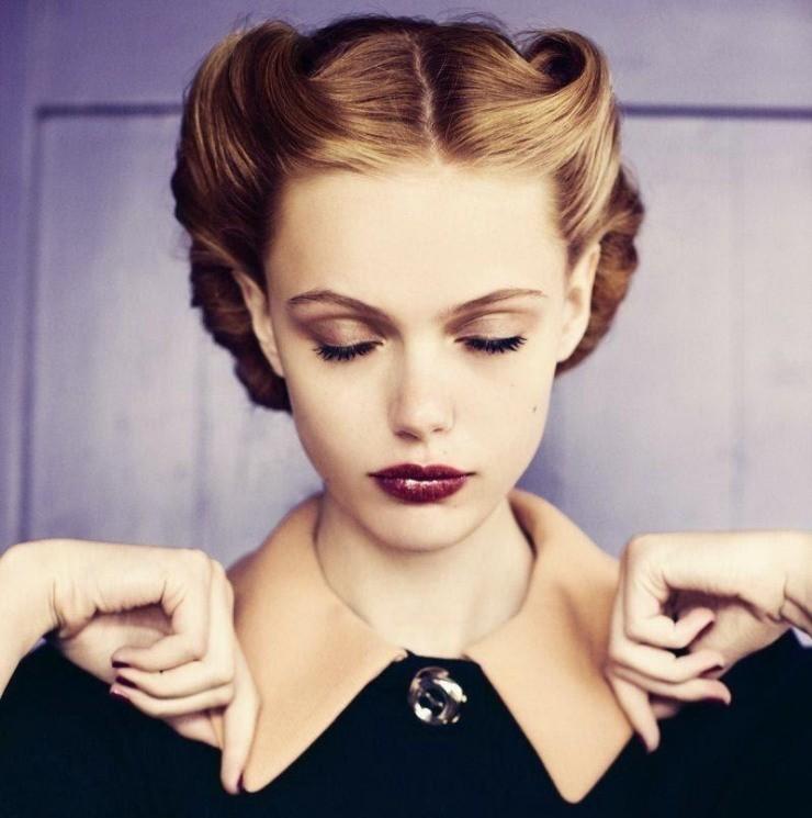 Complet coiffure femme rockabilly VL76