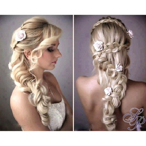 10 id es de coiffure pour tre sublime son mariage astuces de filles - Coiffure pour aller a un mariage ...