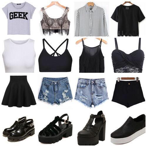24 tenues d t incontournables voir absolument astuces de filles. Black Bedroom Furniture Sets. Home Design Ideas