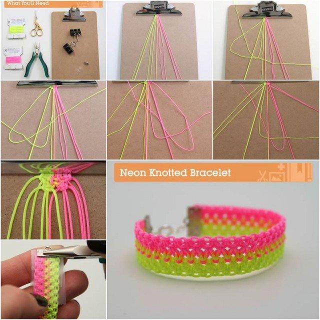 37 tutoriels et id es de bracelets faciles faire soi m me astuces de filles - Bracelet a faire soi meme ...