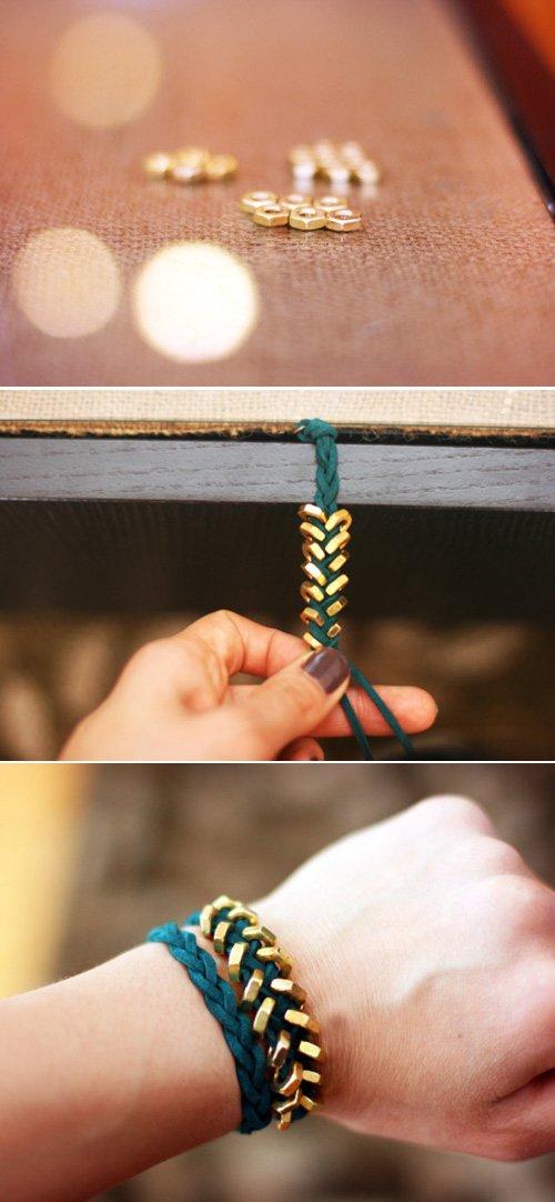 Bekannt 37 tutoriels et idées de bracelets faciles à faire soi même  DV68
