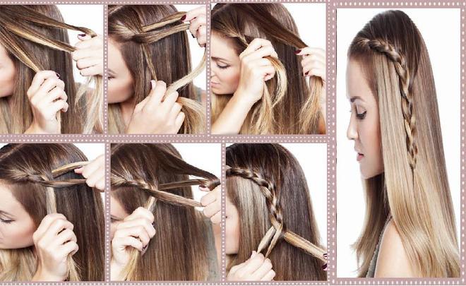 Häufig 52 idées coiffure à faire en 10 minutes pour les filles aux  LF58