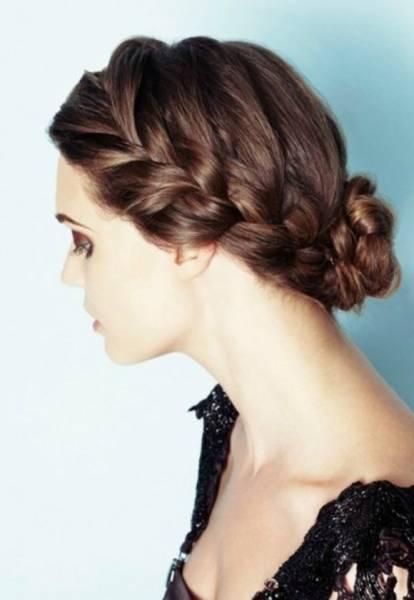 chignon-tresse-femme-cheveux-longs
