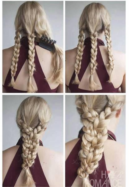 52 Idees Coiffure A Faire En 10 Minutes Pour Les Filles Aux Cheveux Longs