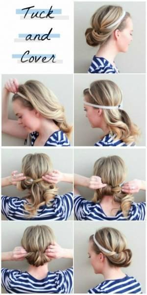 idee-coiffure-chignon-interessant-cheveux-mi-longs