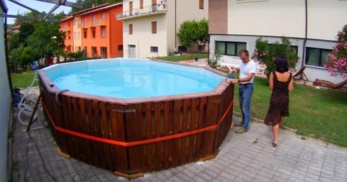 astuce pour une piscine fait maison astuces de filles. Black Bedroom Furniture Sets. Home Design Ideas