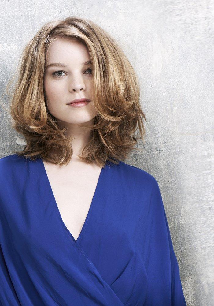 20 inspirations pour coiffures d grad es astuces de filles - Carre long degrade ...