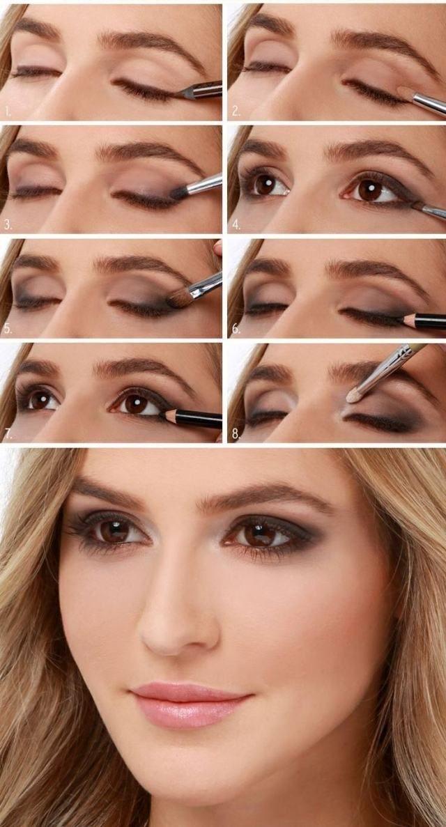 Häufig 50 tutos maquillage naturels pour les pressées du matin! | Astuces  YQ88