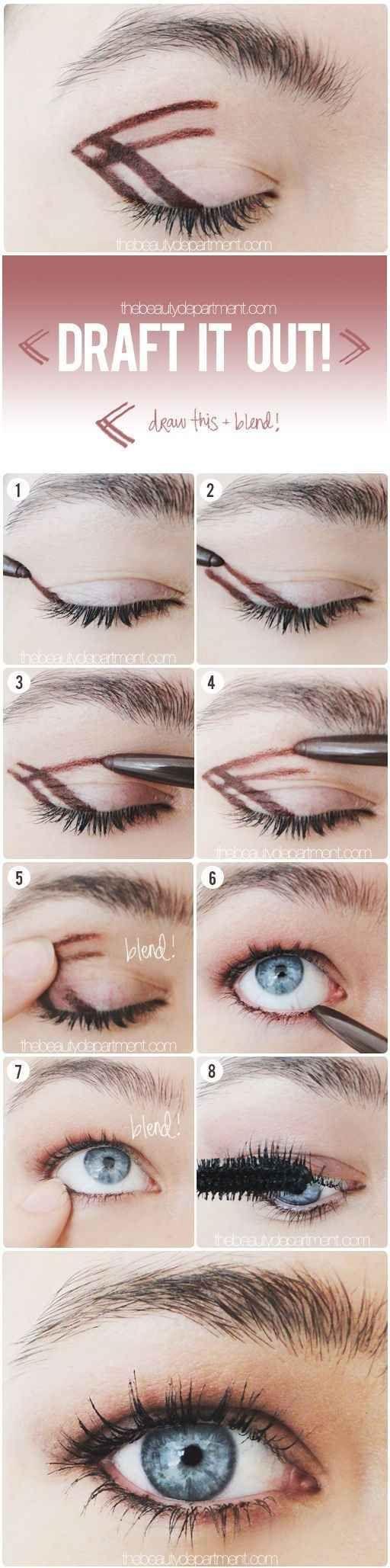 Assez 50 tutos maquillage naturels pour les pressées du matin! | Astuces  MV83