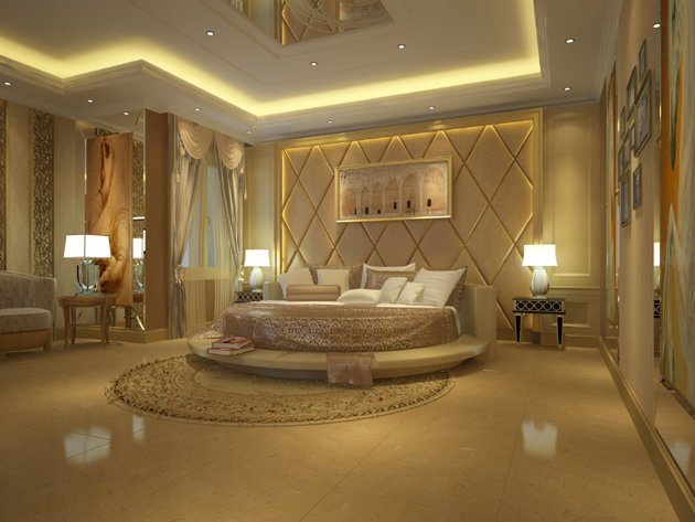 golden bedroom idea - Les Plus Belle Chambre