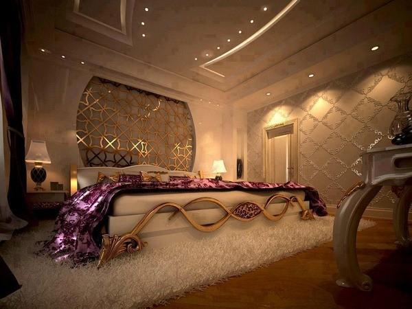idées-chambre-romantique-conception-de-luxe-de-décoration