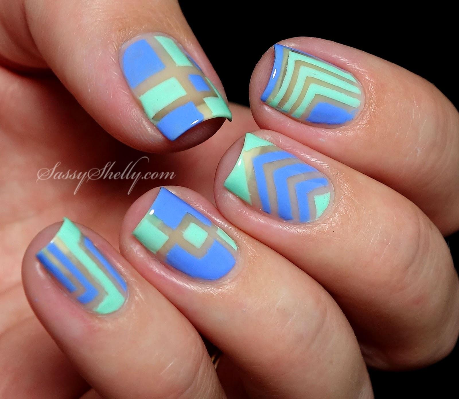 picture-polish-nail-art-right-angle-vinyls-chevrons-squares-negative-space-manicure-for-blog-fest-2014