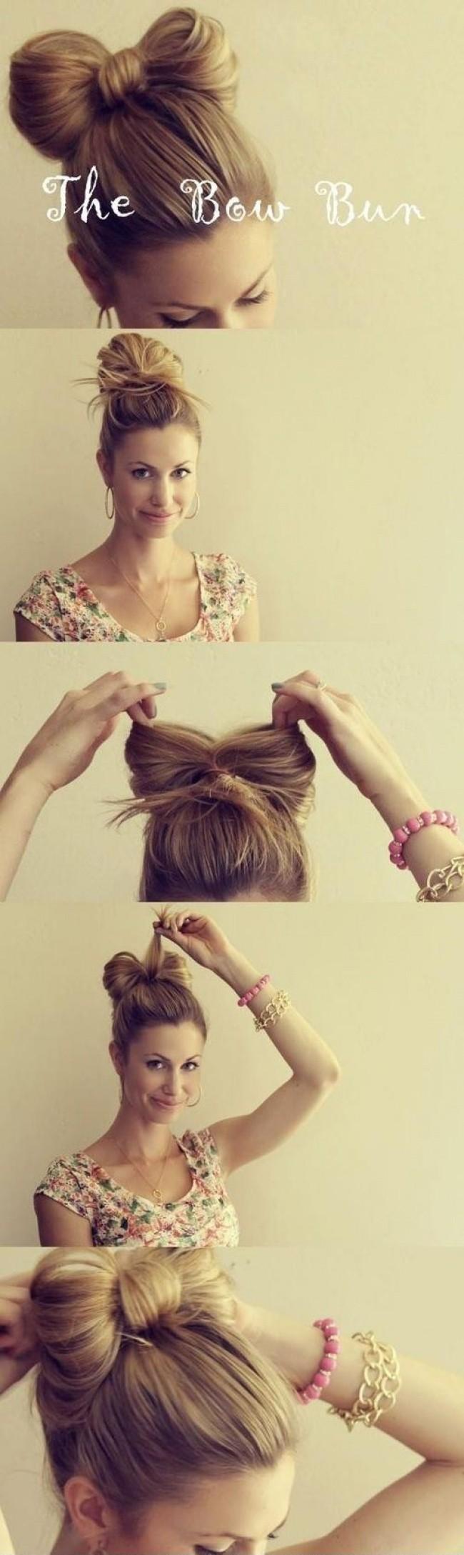 10 Façons de te coiffer si tu es en retard