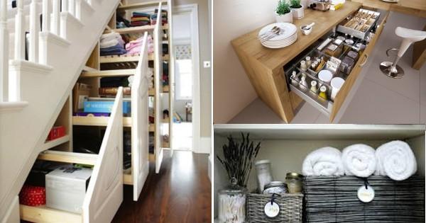 9 Astuces incroyables pour que votre maison reste rangée | Astuces ...