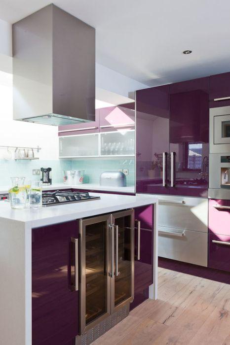 12 id es pour relooker votre cuisine en violet astuces for Astuces de cuisine