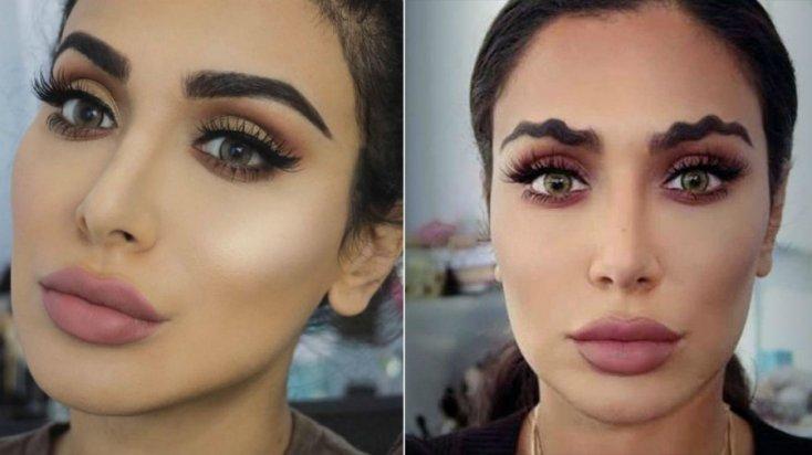 tendance makeup-sourcils-mouvement