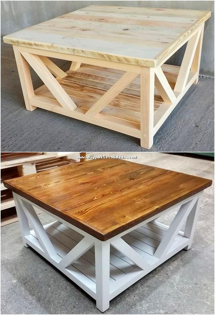 12 idées de meubles en palettes recyclées